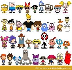 Good ol' Cartoon Network. I wish they would take out the amazing world of gum ball. Then it'd be perfect!