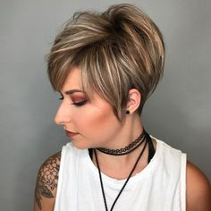 Long+Pixie+Hairstyles+With+Highlights