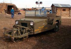 Davis 3 wheeled proto-type jeep (never mass produced)