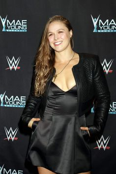Ronda Rousey: WWE Presents Mae Young Classic Finale in Las Vegas Ronda Rousey Pics, Ronda Rousey Hot, Ronda Jean Rousey, Ufc, Rhonda Rousy, Rousey Wwe, Rowdy Ronda, Wrestling Divas, Badass Women