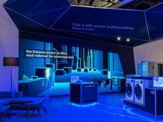 #Lighting and #atmosphere will make your exhibit pop. TriadCreativeGroup.com
