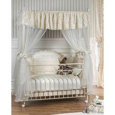 Μεταλλικό κρεβάτι με θόλο Picci σχέδιο Joelle & δώρο το στρώμα Cocolatex Bebemaison