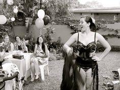 Vintage Cheek Burlesque Bachelorette Parties in Johannesburg, Pretoria and surrounds. Burlesque Bachelorette, Bridal Showers, Kitchen Tea(se) and Hen parties! Burlesque Bachelorette Party, Bachelorette Parties, Pretoria, Bridal Showers, Bikinis, Swimwear, Tea, Gallery, Kitchen