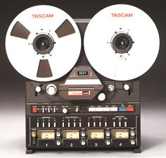 TASCAM 32-B reel to reel professional recording device. Arguably the best portable multichannel recorder ever built. Made music and recorded on on of these in my teens with my best friends. Unfortunately lost the tapes and the copies to years of clear outs - www.remix-numerisation.fr