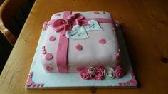 Pink Box Cake Box Cake, Cakes, Desserts, Pink, Food, Tailgate Desserts, Rose, Meal, Cake