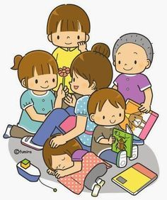 I had fun today with my family. Play School Activities, Classroom Activities, Drawing School, Drawing For Kids, Micro Creche, Image Clipart, Picture Writing Prompts, Cartoon Kids, Pre School