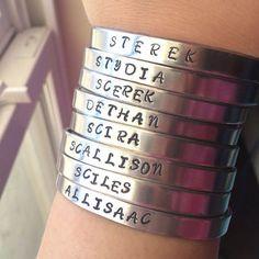 Teen Wolf Ships Bracelet