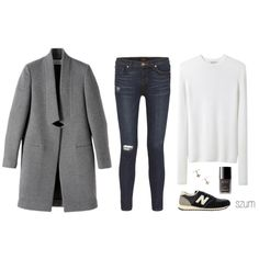 237 by szum on Polyvore featuring T By Alexander Wang, STELLA McCARTNEY, J Brand, New Balance and Chanel