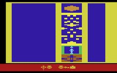 Raiders of the Lost Ark Map Room for the Atari 2600 - retrogaming reviews coming to HippoBytes.com