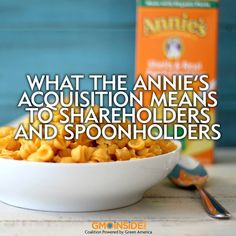 The announcement that General Mills would acquire Annie's Homegrown sent the food world spinning. More here: http://gmoinside.org/annies-acquisition-means-shareholders-spoonholders-robyn-obrien #organic #food