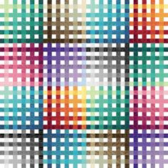 """A Complete Mesh, 78"""" x 78"""",  quilt pattern by  Kent Williams"""