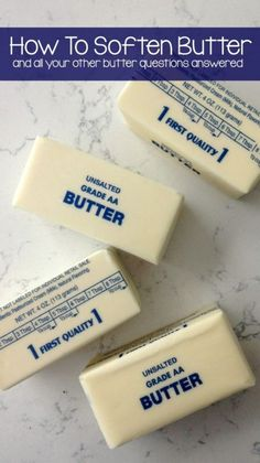 How to Soften Butter and all your other butter questions answered | eBay