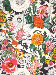 Lovely Greenwich Floral Print Pure Cotton By Fabricsandtrimmings