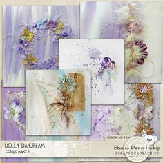 Dolly Daydream : Collage Papers