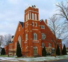 Historic Church - First United Methodist Church - North Branch Michigan