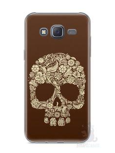 Capa Samsung J5 Caveira #5 - SmartCases - Acessórios para celulares e tablets :)