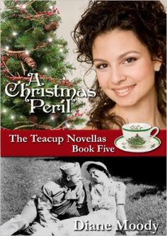 A Christmas Peril by Diane Moody. Lucy is writing the next book in her Teacup series, a Christmas tale loosely based on her aunt and uncle's love story set in the 1940s. She's stunned to discover a frightening similarity to what Mark and she are facing, and finds encouragement in the pages of Lucille's diary.