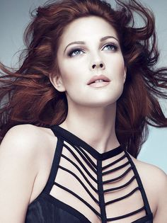 I love Drew Barrymore with red hair.