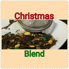 Our Daily Tea: Christmas Blend!! An orange pekoe black tea with holiday spices! Try today (9/27/16) order http://lifethymebotanicals.com/shop/tea/christmas-blend-tea/ #smallbusiness #tea #sample #clove #cinnamon #christmas