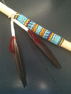 images of native american walking sticks beaded | It's Daffycat: October 2011