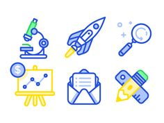 Dribbble - Various Icons by Nick Slater