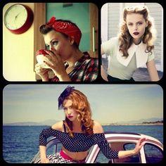 El Estilo pin-up es de actitud sugerente, es una mezcla de sensualidad con picardía y una chispa de ingenuidad. Los estampados 'pin up' por excelencia son los que tienen puntos, flores, corazones y frutas.  A pin-up girl, also known as a pin-up model or cheesecake, Pin-up girls may be glamour models, fashion models, or actresses.   #StreetStyle #UrbanStyle #CoolHunting #ImagenPersonal #ImagenGlobalEfectiva #ConsultoriaEnImagen #ImagenPublica