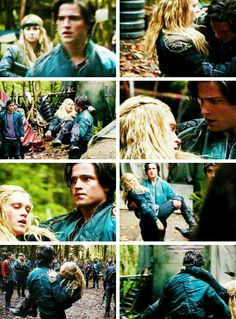 Finn and Clarke please happen! He does love her and Clarke needs to open her eyes and see that!!! #The100
