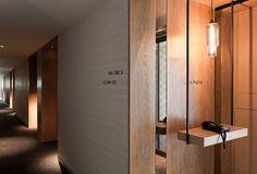 Modern corridor #display #corridor #housephone
