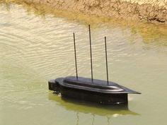 Replica of Tesla's remote controlled boat