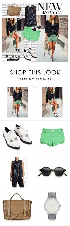 """""""Yoins contest"""" by jasmila31 ❤ liked on Polyvore featuring Oris, Da-Nang, Sweet Pea by Stacy Frati, Topshop, Larsson & Jennings, women's clothing, women's fashion, women, female and woman"""