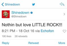 Via #Shinedown:   Barry Kerch Brent Smith Eric Bass Shinedown Shinedown Nation Shinedowns Nation Zach Myers