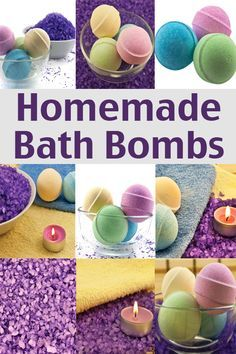 This homemade bath bombs recipe can be made at home with a few easy to get ingredients.</strong> Pamper yourself and reduce stress without spending a lot of money! Bath Fizzies, Bath Salts, Bath Soap, Mac Cosmetics, Homemade Cosmetics, Belleza Diy, Savon Soap, Diy Cadeau, Homemade Bath Bombs