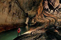 As cavernas gigantes de Gunung Mulu, Sarawak, na Malásia.