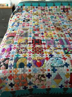 The Chuck Nohara quilt by Lorena in Sydney. (found book back in print at…