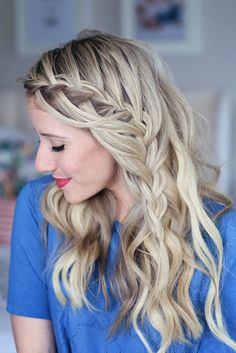 Cascading Waterfall   Cute Girl's Hairstyles