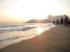I live here. Haeundae-gu Beach, Busan, South Korea