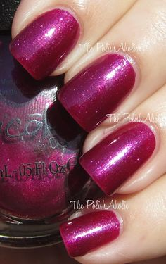Nicole by OPI Vio-Lets Talk About Red