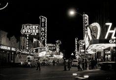 Vintage Las Vegas — Las Vegas c. 1954-1955 from Bondman