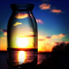 The #sky in the #bottle ! what a photo!