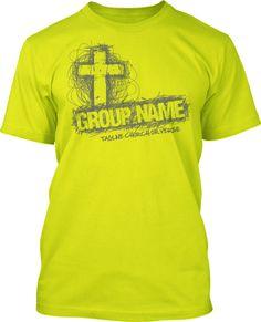 Scribble Cross T-Shirt Design #791