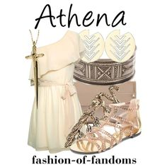 """Athena"" by fofandoms on Polyvore"