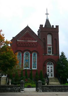 Presbyterian Church-One of many on the Historic National Register