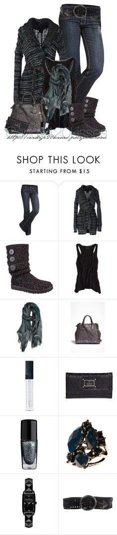 """""""Untitled #38"""" by candy420kisses ❤ liked on Polyvore featuring See Thru Soul, Diesel, American Eagle Outfitters, Juma, GUESS, Le Métier de Beauté, Lancôme, Accessorize, Karl Lagerfeld and Minoronzoni"""