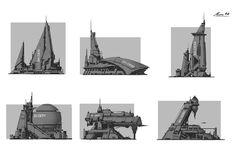 ArtStation - Sketchs- Near future Sci-Fi, Maxime BiBi
