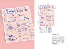 2018 포트폴리오 - 브랜딩/편집 · 일러스트레이션, 브랜딩/편집, 일러스트레이션, 그래픽 디자인, 브랜딩/편집 Harvard Law, Legally Blonde, Infographic, Bullet Journal, Graphic Design, Infographics, Visual Communication, Visual Schedules