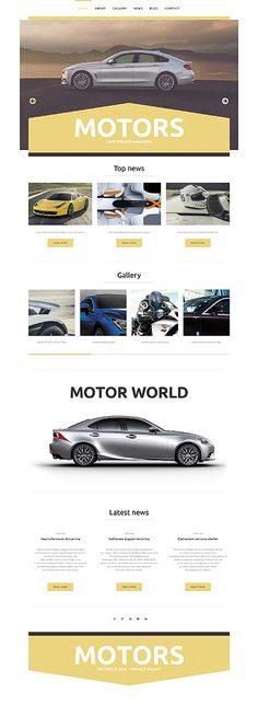 Template 49009 - Cars Responsive WordPress Theme