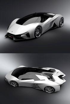Voiture : Lamborghini Diamante Concept (Version non décapotable)