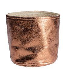 Chic Storage Basket #metallics