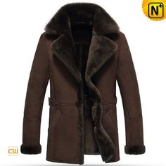 www.cwmalls.com PayPal Available (Price: $1455.89) Email:sales@cwmalls.com; Mens Sheepskin Leather Jacket Brown CW852216 Earthy tones men's sheepskin leather jacket brown made from soft genuine shearling sheepskin lining, suede finish sheep leather exterior offer extra protection for you in chilliest winter!