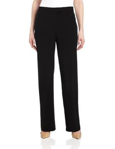 Sag Harbor Women's Slimming-Panel Pant - http://darrenblogs.com/2015/12/sag-harbor-womens-slimming-panel-pant/